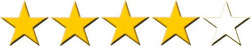 4 of 5 stars