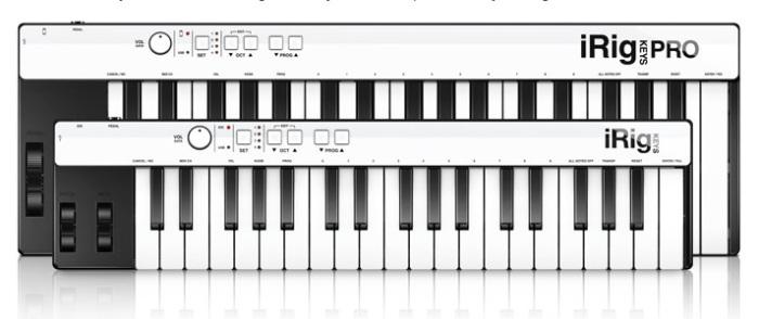 iRig Keys Pro and iRig Keys