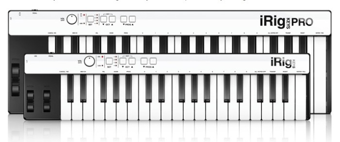 iRig Keys Pro and iRig Keys