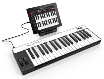 iRig Keys Pro used with iPad