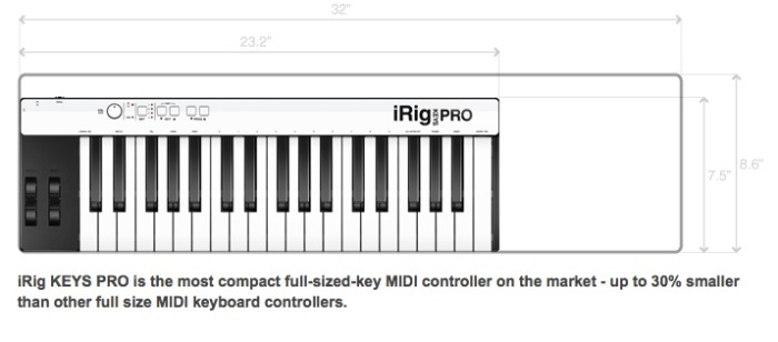 iRig Keys Pro1